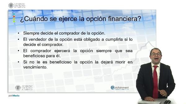 ¿Cuándo se ejerce la opción financiera?