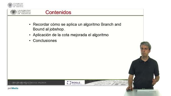 Cotas mejoradas para el algoritmo Branch and Bound aplicado a la secuenciación en talleres jobshop