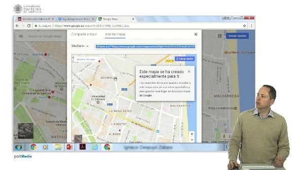 Búsqueda de información en Internet. Funciones adicionales de Google Maps