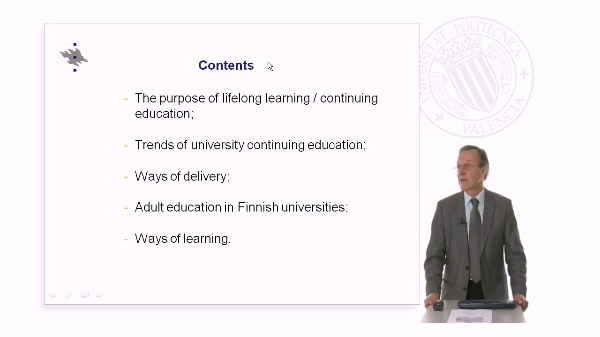 Current and future developments in academic coninuing education