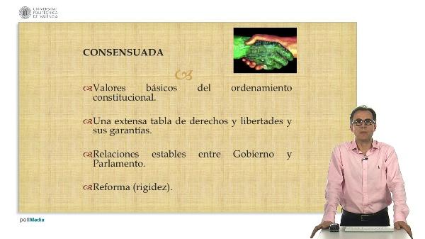 Los caracteres de la Constitución Española 1978