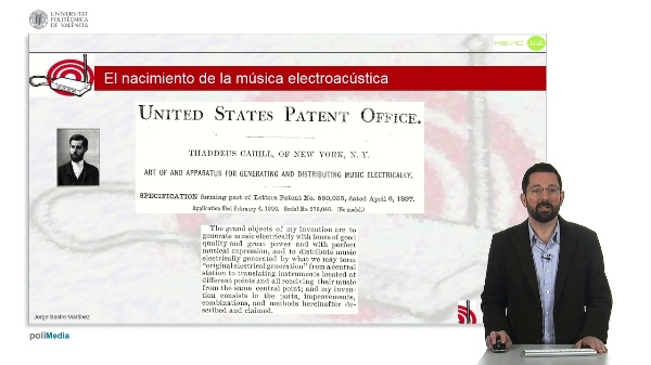 Historia de la Música Electrónica: Nacimiento de la Música Electroacústica - Telarmonio, Choralcelo