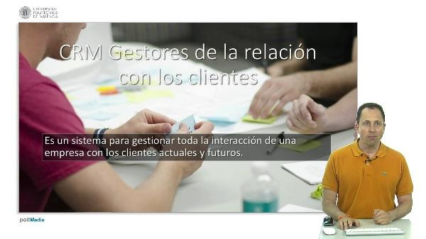 Gestores de la relación con los clientes (CRM)