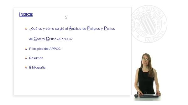 Introducción al análisis de peligros y puntos de control crítico (APPCC)