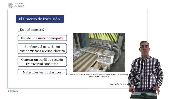 Extrusión de materiales poliméricos