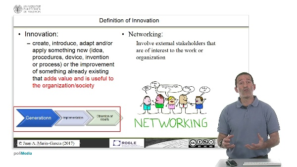 Networking and its relationship to innovation