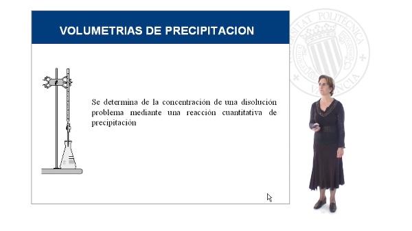 Volumetrías de precipitación