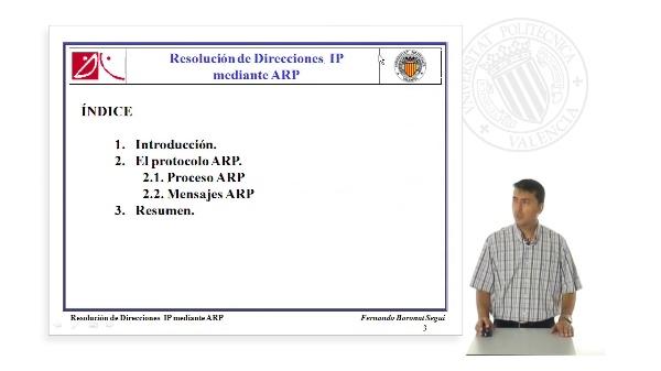 Resolución de Direcciones IP mediante ARP
