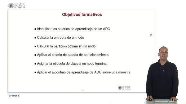 Aprendizaje de árboles de clasificación.