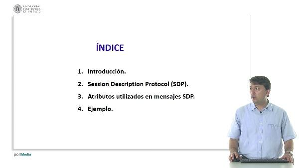 Atributos utilizados en el protocolo SDP