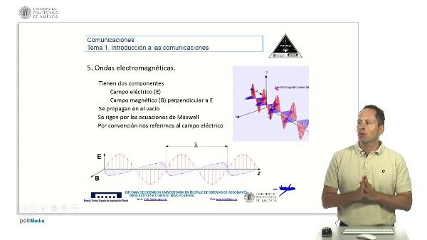 Comunicaciones RPAS. Ondas electromagnéticas