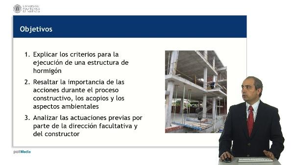 Criterios generales para la ejecución de estructuras de hormigón