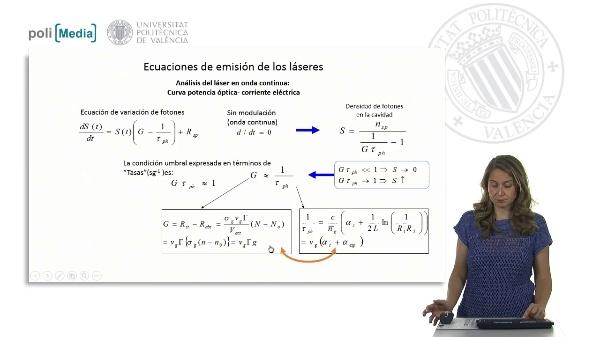 Ecuaciones de emisión (laser en onda continua II)
