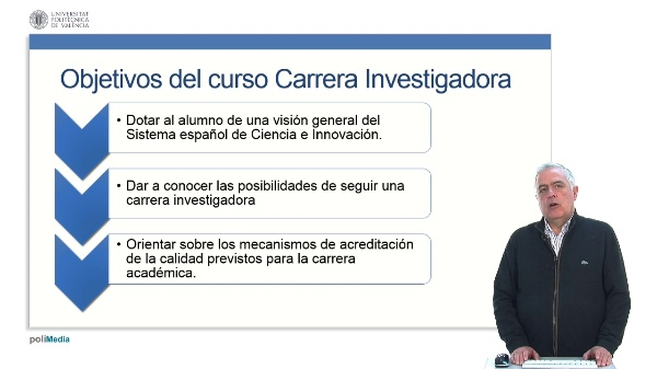 Carrera Investigadora. Presentación