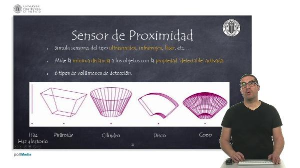 CoppeliaSim (V-REP): Sensores.
