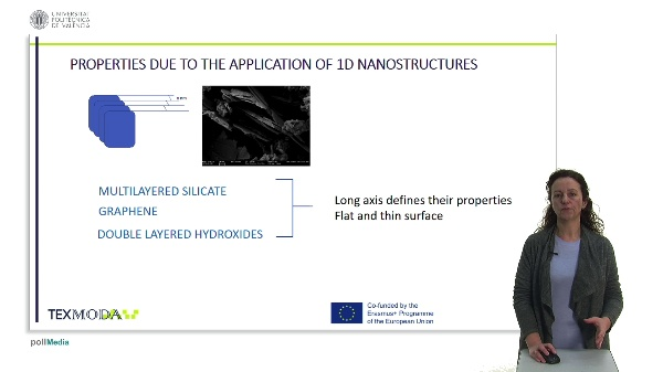 PROPERTIES DUE TO THE APPLICATION OF 1D NANOSTRUCTURES
