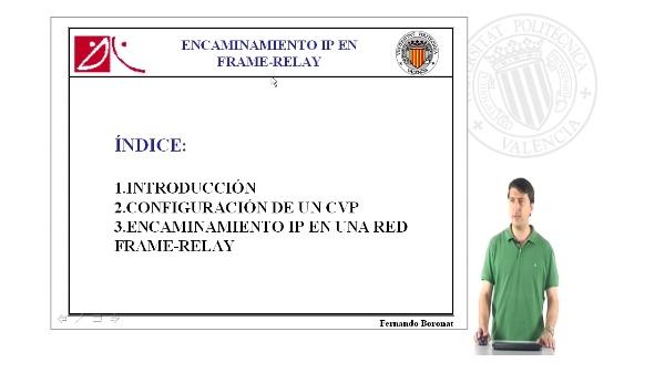 Configuración del encaminamiento IP en Frame Relay