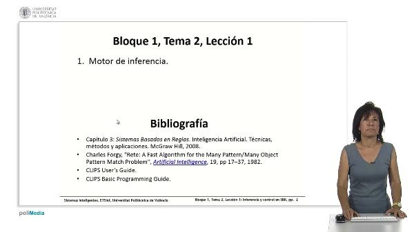 Tema 2, Lección 1: Inferencia en SBR: encadenamiento y control. RETE.