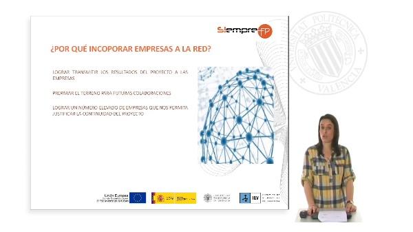 Incorporación de empresas a la red de innovación