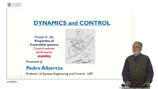 Propierties of Controlled Systems. Control systems performance