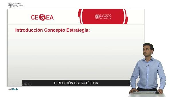 Presentación Módulo: Dirección Estratégica
