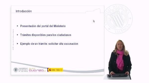 El Ministerio de Sanidad y Política Social en Internet