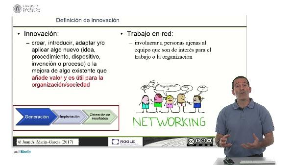 La competencia de Trabajo en red y su relación con la innovación.