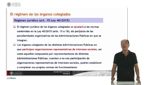 Unidad 9. Órganos colegiados de las distintas administraciones públicas.