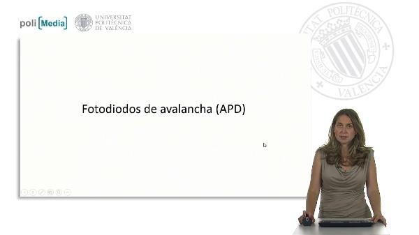 Fotodiodos de avalancha (APD)