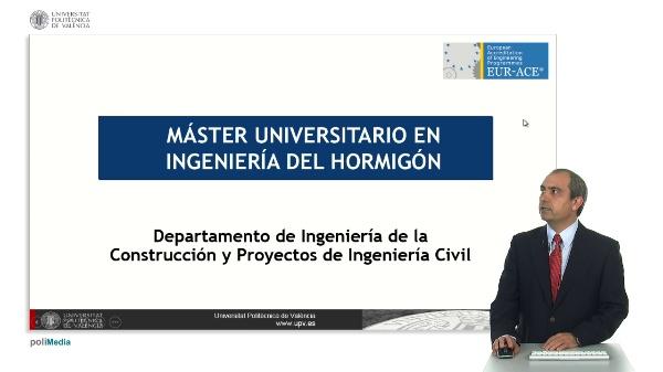 Master Universitario en Ingenieria del Hormigon