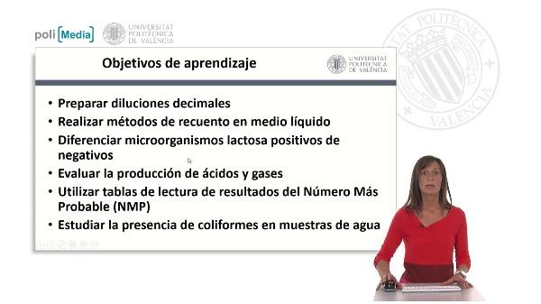 Investigación y recuento de enterobacterias lactosa-positivas: COLIFORMES