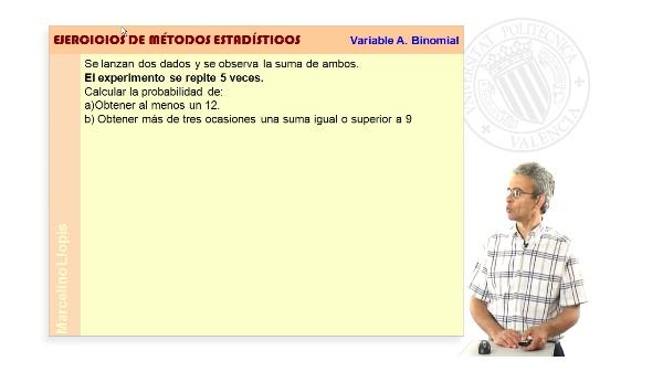 03-V BINOMIAL-03 -Variable aleatoria Binomial