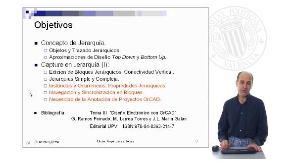 Prontuario de OrCAD. Capture: Jerarquía de Bloques. Parte I