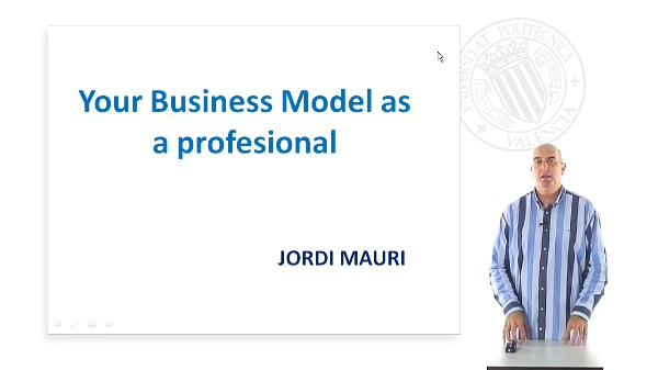 Your Business Model as a professional