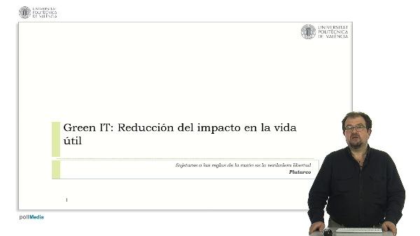 Green IT: Reducción del impacto en la vida útil