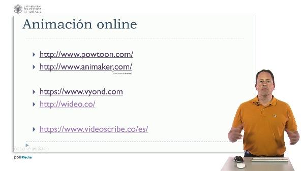 Tecnologías para la educación. Herramientas de animación online