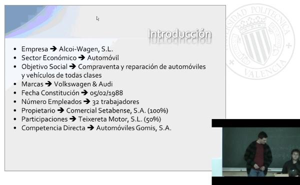 Anàlisis Alcoi-Wagen S.L.