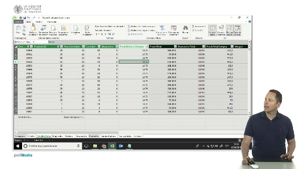 Excel. Power Pivot. Menú y medidas implícitas y explícitas