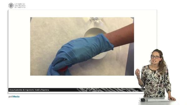 Demostración práctica de obtención de cápsulas.