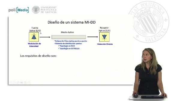 Diseño de un sistema MI-DD: Balance de potencias y de tiempos