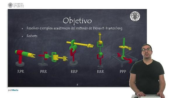 Ejemplos Académicos. Método Denavit-Hartenberg