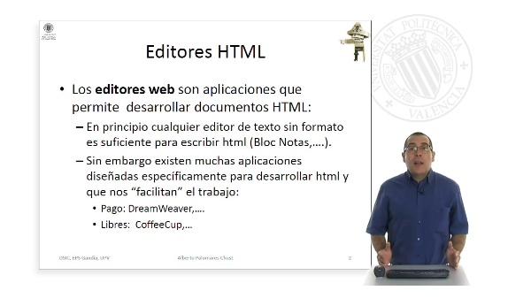 Edición de HTML
