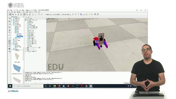 CoppeliaSim (V-REP): Creating DYOR robot (Step 1).