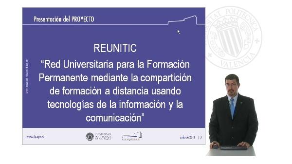 1. Proyecto REUNITIC: Objetivos y presentación del proyecto