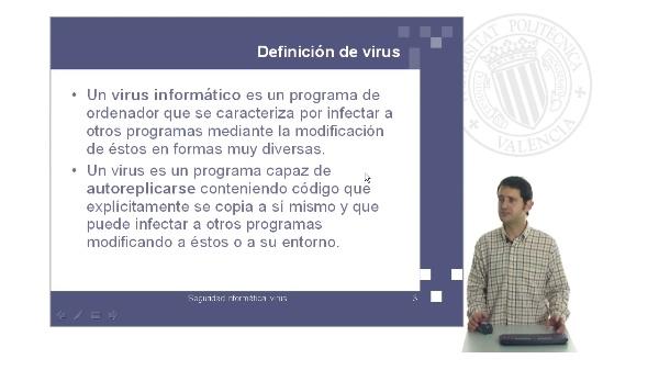 Seguridad informática: virus