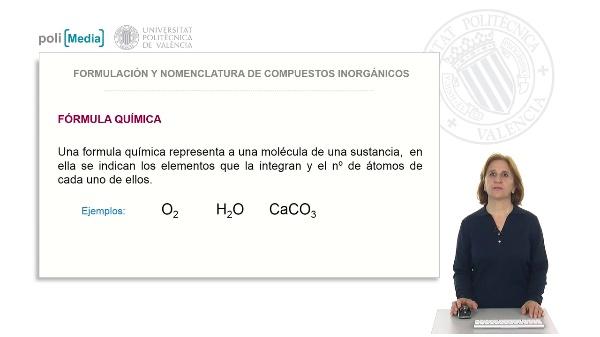 Formulación y nomenclatura de compuestos inorgánicos