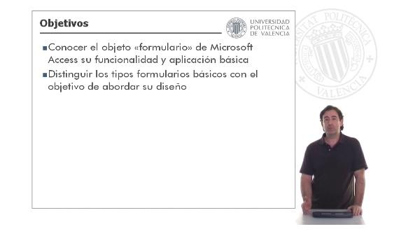 Microsoft Access - Diseño de formularios: Introducción