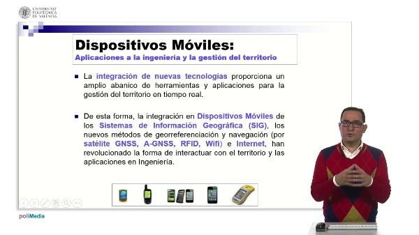 Dispositivos Móviles: Aplicaciones a la ingeniería y la gestión del territorio