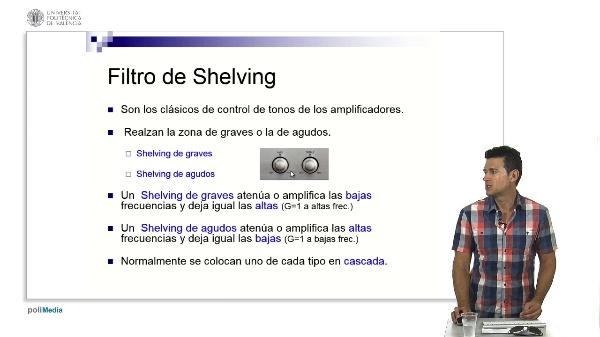 Filtro de Shelving