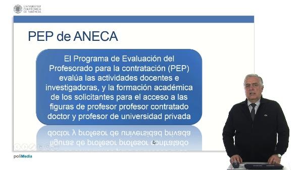 Acreditación para Profesorado Contratado Doctor y Profesor de Universidad Privada